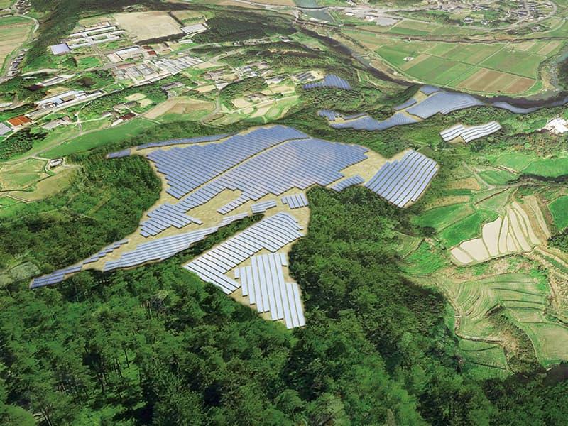 Blue Power Oita Kitsuki 1 発電所