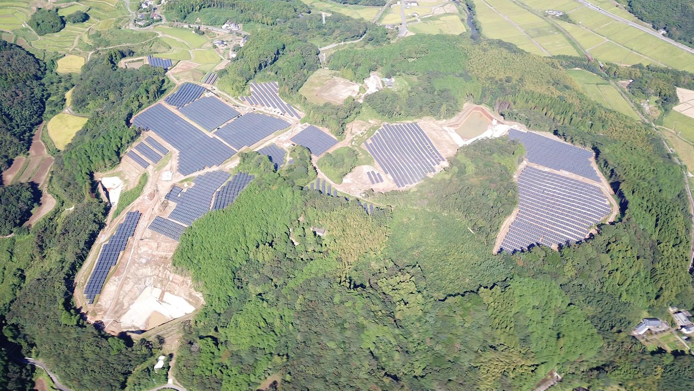 Blue Power Oita Kitsuki 2 発電所
