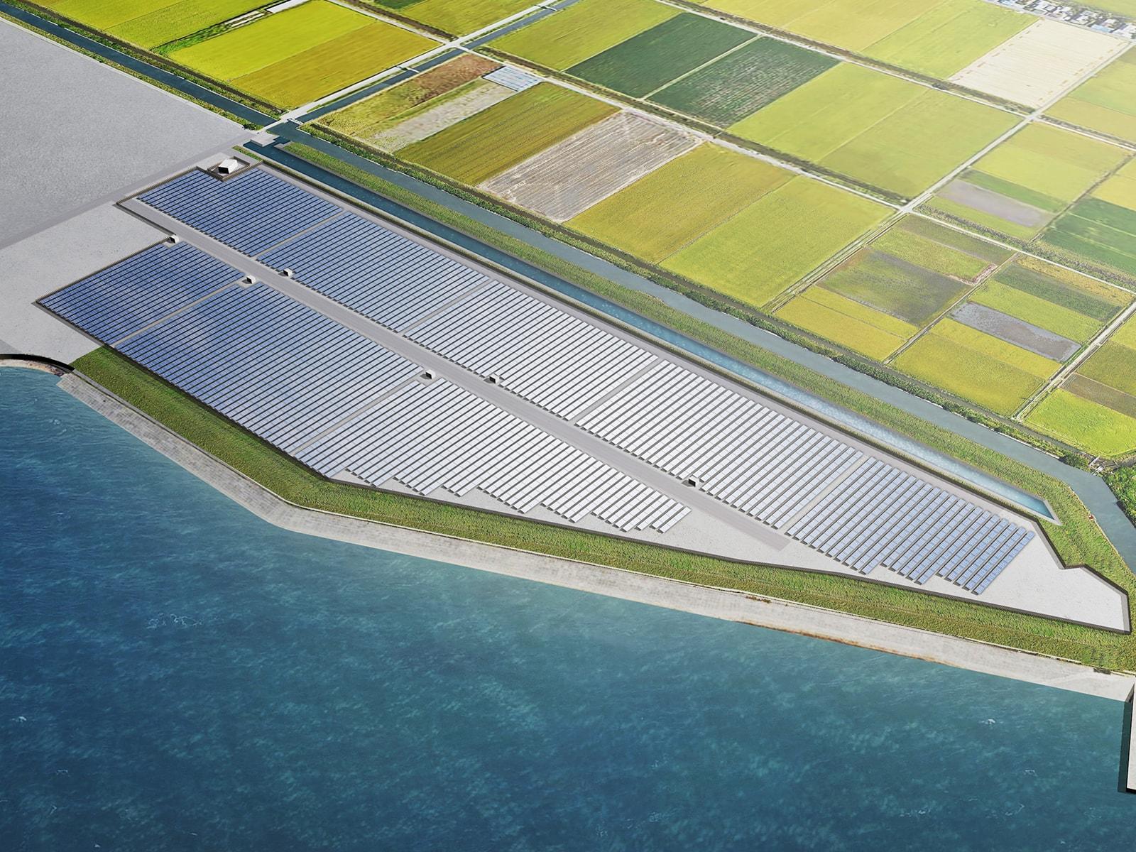 Blue Power 福岡みやま発電所|株式会社Blue Power Construction